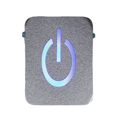 Close Up Of A Power Button Apple iPad 2/3/4 Protective Soft Cases