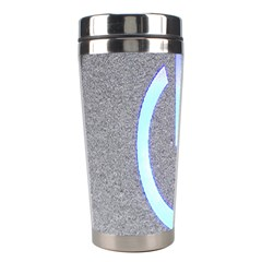Close Up Of A Power Button Stainless Steel Travel Tumblers