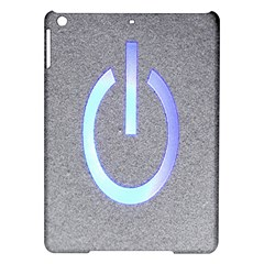 Close Up Of A Power Button Ipad Air Hardshell Cases