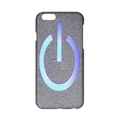 Close Up Of A Power Button Apple Iphone 6/6s Hardshell Case