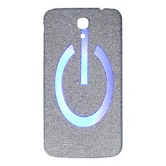 Close Up Of A Power Button Samsung Galaxy Mega I9200 Hardshell Back Case