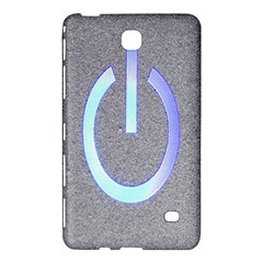 Close Up Of A Power Button Samsung Galaxy Tab 4 (8 ) Hardshell Case