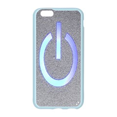 Close Up Of A Power Button Apple Seamless iPhone 6/6S Case (Color)