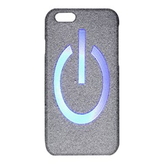 Close Up Of A Power Button iPhone 6/6S TPU Case