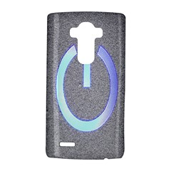 Close Up Of A Power Button Lg G4 Hardshell Case