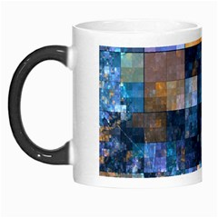 Blue Squares Abstract Background Of Blue And Purple Squares Morph Mugs