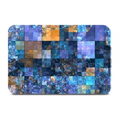 Blue Squares Abstract Background Of Blue And Purple Squares Plate Mats
