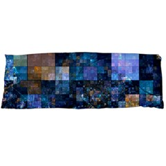 Blue Squares Abstract Background Of Blue And Purple Squares Body Pillow Case Dakimakura (Two Sides)