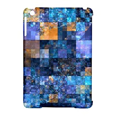 Blue Squares Abstract Background Of Blue And Purple Squares Apple iPad Mini Hardshell Case (Compatible with Smart Cover)