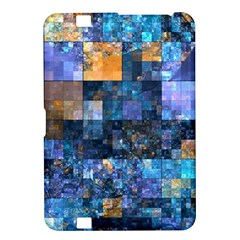Blue Squares Abstract Background Of Blue And Purple Squares Kindle Fire Hd 8 9