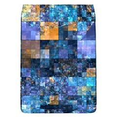 Blue Squares Abstract Background Of Blue And Purple Squares Flap Covers (l)