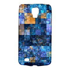 Blue Squares Abstract Background Of Blue And Purple Squares Galaxy S4 Active