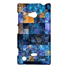 Blue Squares Abstract Background Of Blue And Purple Squares Nokia Lumia 720