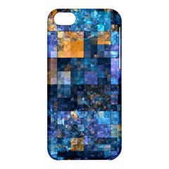 Blue Squares Abstract Background Of Blue And Purple Squares Apple Iphone 5c Hardshell Case