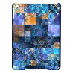 Blue Squares Abstract Background Of Blue And Purple Squares Ipad Air Hardshell Cases