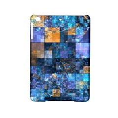 Blue Squares Abstract Background Of Blue And Purple Squares Ipad Mini 2 Hardshell Cases