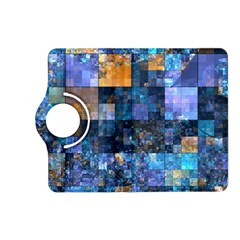 Blue Squares Abstract Background Of Blue And Purple Squares Kindle Fire HD (2013) Flip 360 Case