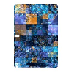 Blue Squares Abstract Background Of Blue And Purple Squares Samsung Galaxy Tab Pro 12.2 Hardshell Case