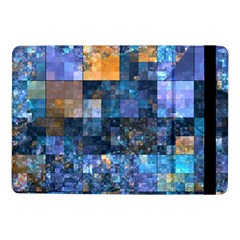Blue Squares Abstract Background Of Blue And Purple Squares Samsung Galaxy Tab Pro 10.1  Flip Case