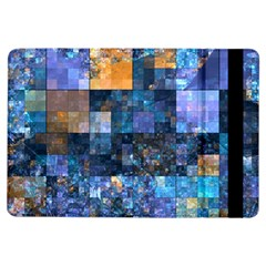 Blue Squares Abstract Background Of Blue And Purple Squares Ipad Air Flip