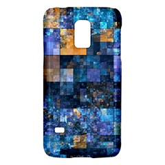 Blue Squares Abstract Background Of Blue And Purple Squares Galaxy S5 Mini