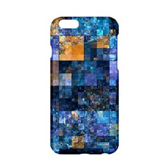 Blue Squares Abstract Background Of Blue And Purple Squares Apple Iphone 6/6s Hardshell Case