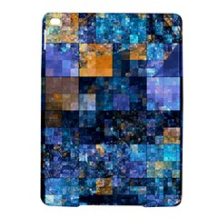 Blue Squares Abstract Background Of Blue And Purple Squares iPad Air 2 Hardshell Cases