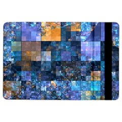 Blue Squares Abstract Background Of Blue And Purple Squares Ipad Air 2 Flip