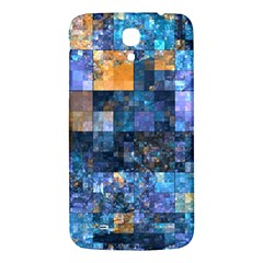 Blue Squares Abstract Background Of Blue And Purple Squares Samsung Galaxy Mega I9200 Hardshell Back Case
