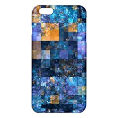 Blue Squares Abstract Background Of Blue And Purple Squares Iphone 6 Plus/6s Plus Tpu Case