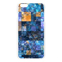 Blue Squares Abstract Background Of Blue And Purple Squares Apple Seamless iPhone 6 Plus/6S Plus Case (Transparent)