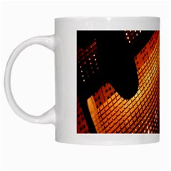Magic Steps Stair With Light In The Dark White Mugs