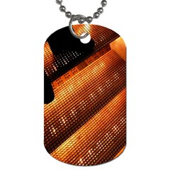 Magic Steps Stair With Light In The Dark Dog Tag (Two Sides)