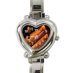 Magic Steps Stair With Light In The Dark Heart Italian Charm Watch