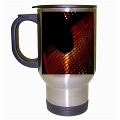 Magic Steps Stair With Light In The Dark Travel Mug (silver Gray)