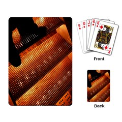 Magic Steps Stair With Light In The Dark Playing Card
