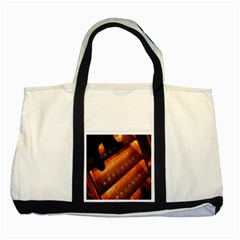 Magic Steps Stair With Light In The Dark Two Tone Tote Bag
