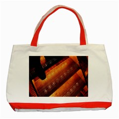 Magic Steps Stair With Light In The Dark Classic Tote Bag (Red)