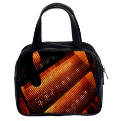 Magic Steps Stair With Light In The Dark Classic Handbags (2 Sides)