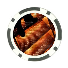 Magic Steps Stair With Light In The Dark Poker Chip Card Guard (10 pack)