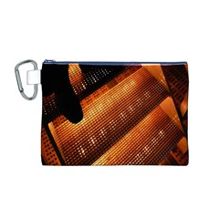 Magic Steps Stair With Light In The Dark Canvas Cosmetic Bag (M)
