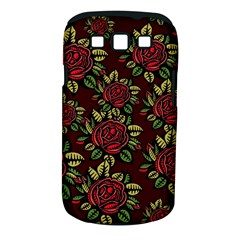 A Red Rose Tiling Pattern Samsung Galaxy S Iii Classic Hardshell Case (pc+silicone)