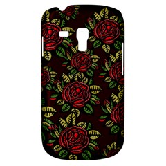 A Red Rose Tiling Pattern Galaxy S3 Mini