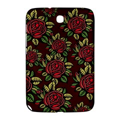 A Red Rose Tiling Pattern Samsung Galaxy Note 8 0 N5100 Hardshell Case
