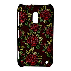 A Red Rose Tiling Pattern Nokia Lumia 620