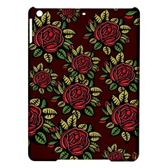 A Red Rose Tiling Pattern Ipad Air Hardshell Cases