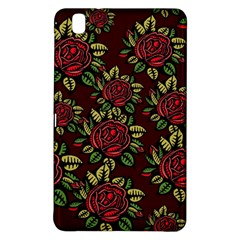 A Red Rose Tiling Pattern Samsung Galaxy Tab Pro 8 4 Hardshell Case