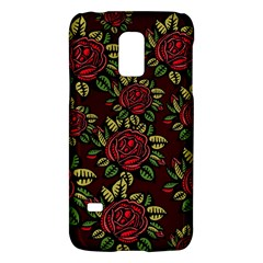 A Red Rose Tiling Pattern Galaxy S5 Mini