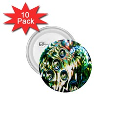 Dark Abstract Bubbles 1 75  Buttons (10 Pack)
