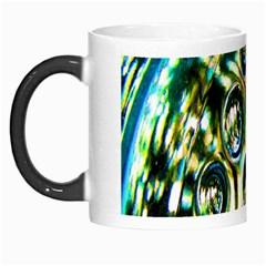 Dark Abstract Bubbles Morph Mugs